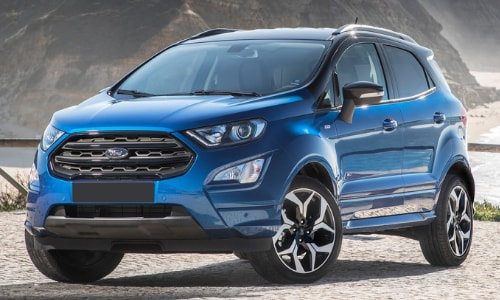 2020 Ford EcoSport sea cliff water overlook