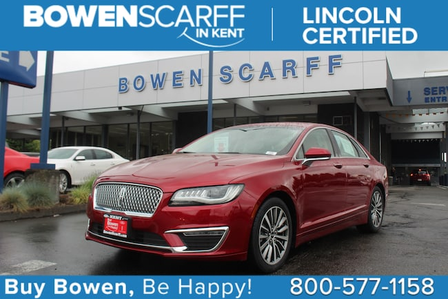 2017 Lincoln MKZ Hybrid Select - Lincoln Certified Car