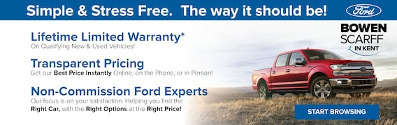 Bowen Scarff In Kent Wa Ford Dealership Near Seattle