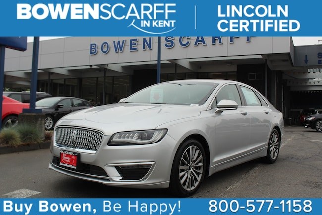 2017 Lincoln MKZ Select - Lincoln Certified Car