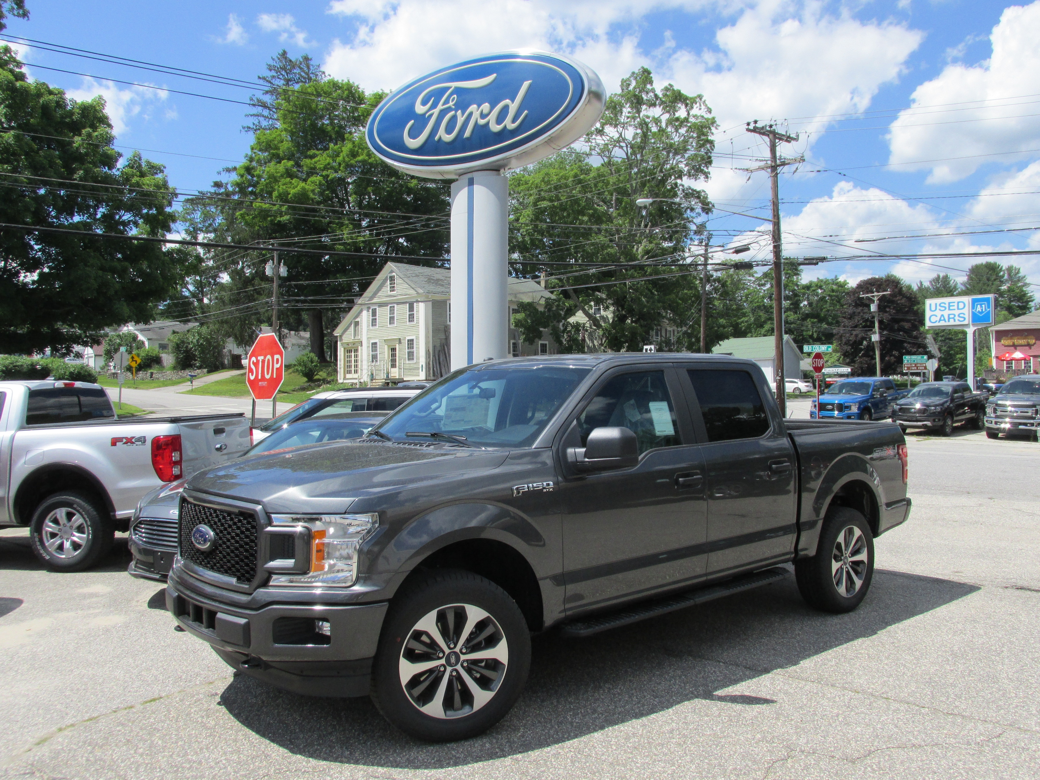 New 2019 Ford F-150 For Sale at Bowen's Garage Inc  | VIN