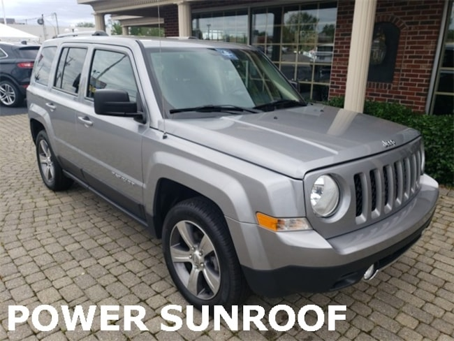 Used 2016 Jeep Patriot High Altitude w Sunroof SUV for sale in Bowling Green, OH