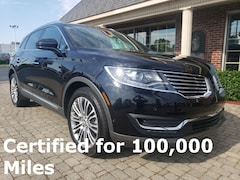 Certified Pre-Owned 2016 Lincoln MKX Reserve SUV for sale in Bowling Green, OH