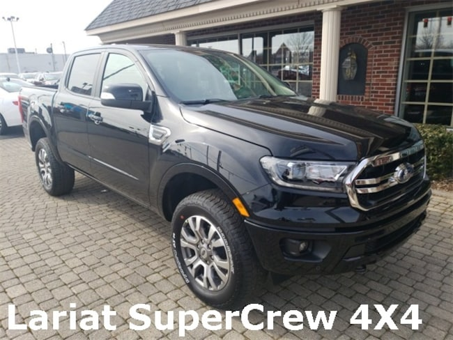 Used 2019 Ford Ranger Lariat FX4 SuperCrew w Nav & Leather Truck for sale in Bowling Green, OH