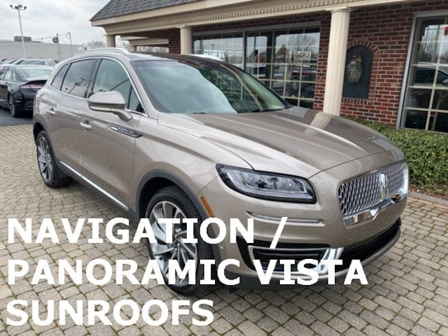 Used 2020 Lincoln Nautilus Reserve AWD w Navigation & Panoramic Vista Sunroofs SUV for sale in Bowling Green, OH