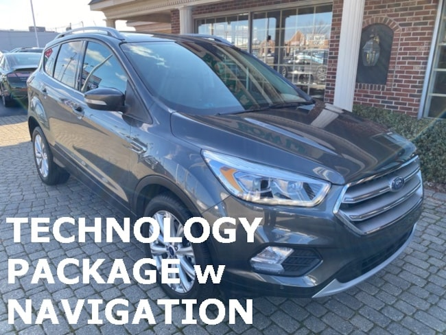 Used 2017 Ford Escape Titanium AWD w Navigation & Sunroof SUV for sale in Bowling Green, OH