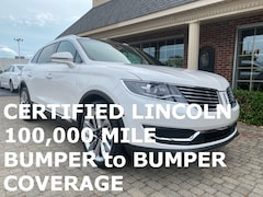 Certified Pre-Owned 2017 Lincoln MKX Reserve w Navigation & Panoramic Vista Sunroofs SUV for sale in Bowling Green, OH