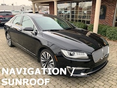 Used 2017 Lincoln MKZ Reserve AWD w Nav & Sunroof Sedan for sale oin Bowling Green, OH