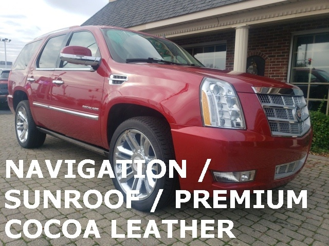2014 Cadillac Escalade Platinum 4X4 w Navigation and Sunroof SUV