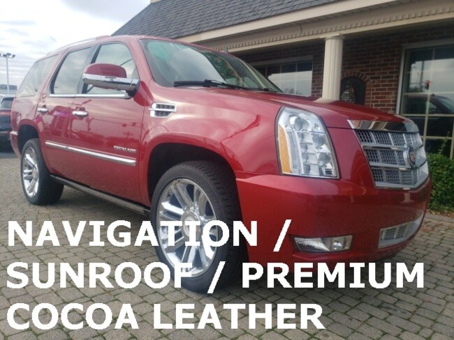Used 2014 Cadillac Escalade Platinum 4X4 w Navigation and Sunroof SUV for sale in Bowling Green, OH