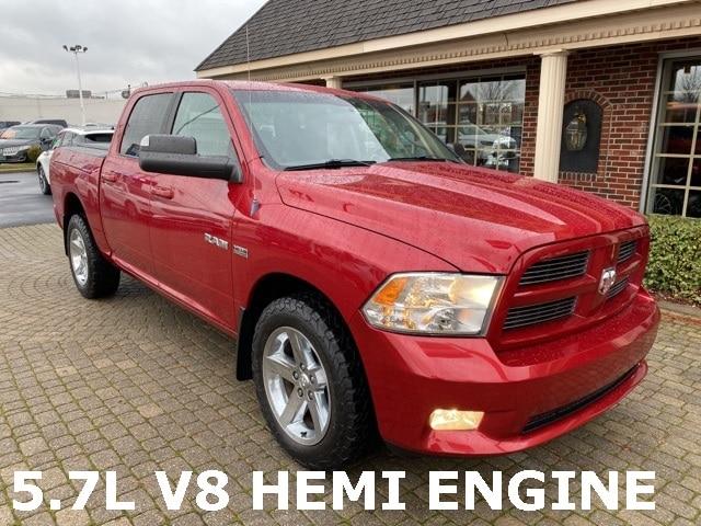2010 Dodge Ram 1500 Sport Crew Cab 4X4 w 5.7L Hemi V8 Engine Truck