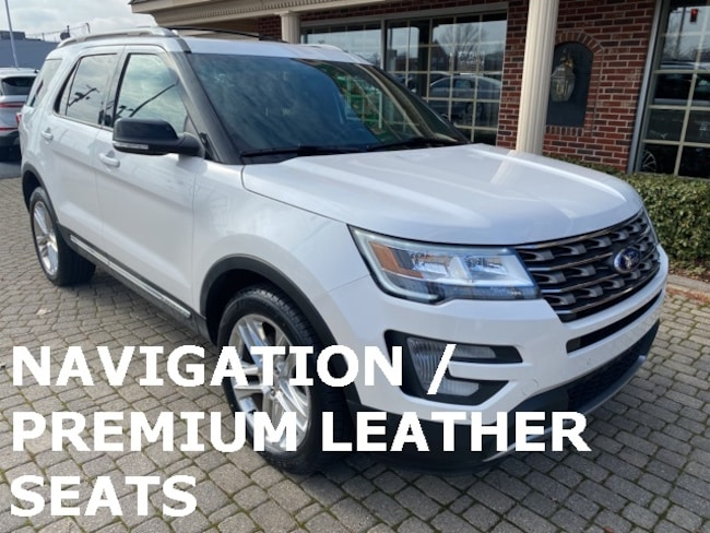 Used 2017 Ford Explorer XLT 4X4 w Navigation, Panoramic Vista Sunroofs, and Leather SUV for sale in Bowling Green, OH