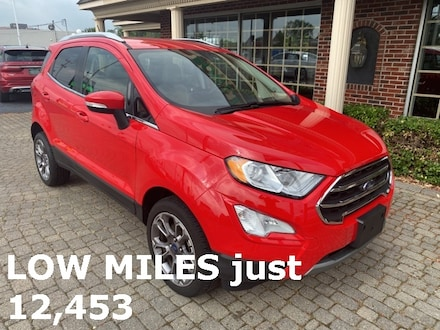 2019 Ford EcoSport Titanium 4X4 w Navigation, Sunroof, & Leather SUV
