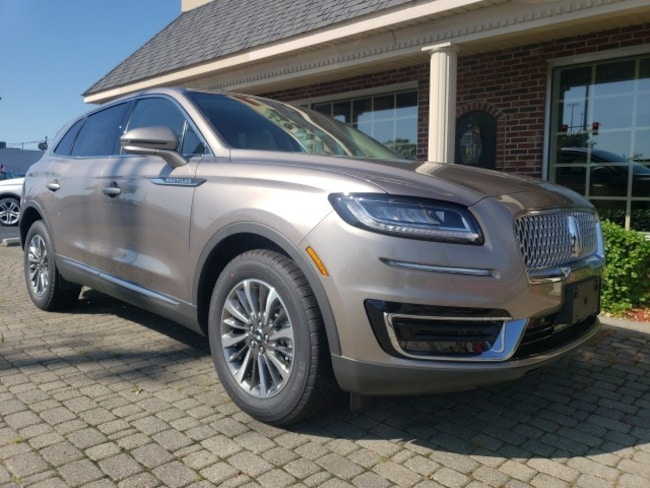 New 2019 Lincoln Nautilus Select SUV for sale in Bowling Green, OH