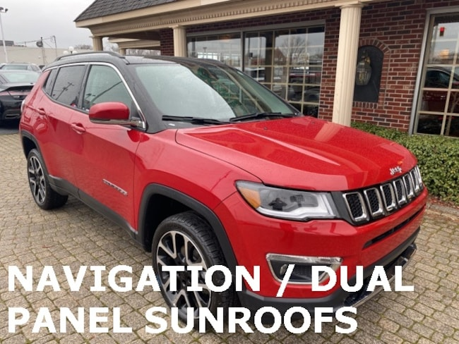 Used 2018 Jeep Compass Limited SUV for sale in Bowling Green, OH