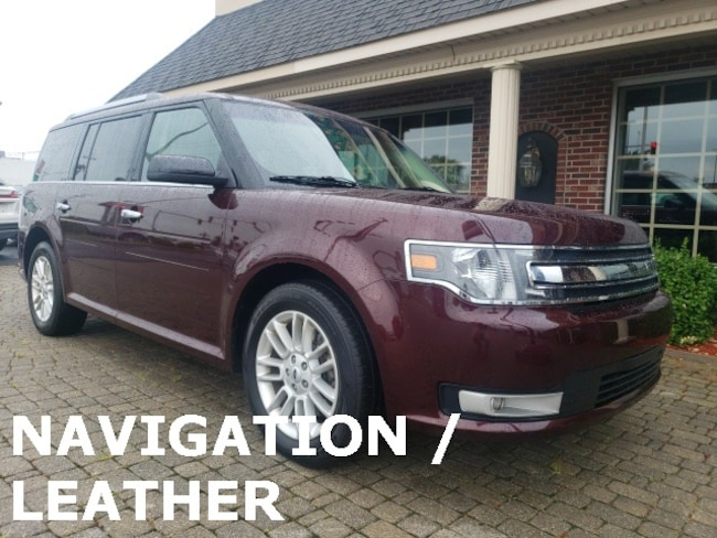 Used 2018 Ford Flex SEL AWD w Navigtion & Leather SUV for sale in Bowling Green, OH