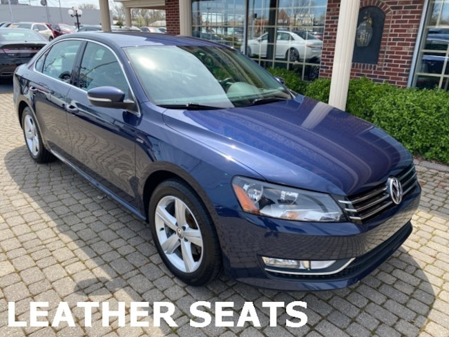Used 2015 Volkswagen Passat 1.8T S w Leather & Heated Seats Sedan for sale in Bowling Green, OH
