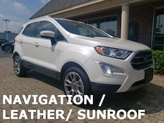 Used 2018 Ford EcoSport Titanium AWD w Nav, Leather & Sunroof SUV for sale oin Bowling Green, OH