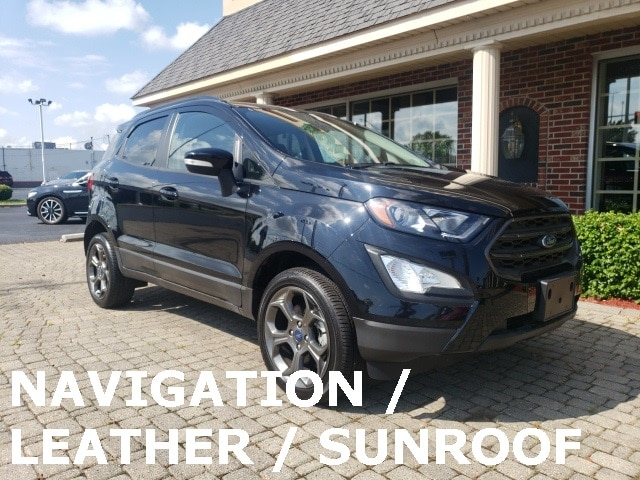 2018 Ford EcoSport SES 4X4 w Nav, Leather & Sunroof SUV