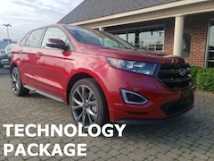 Used 2016 Ford Edge Sport AWD w Nav, Leather & Panormic Vista Sunroofs SUV for sale oin Bowling Green, OH