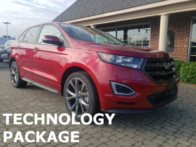Used 2016 Ford Edge Sport AWD w Nav, Leather & Panormic Vista Sunroofs SUV for sale in Bowling Green, OH