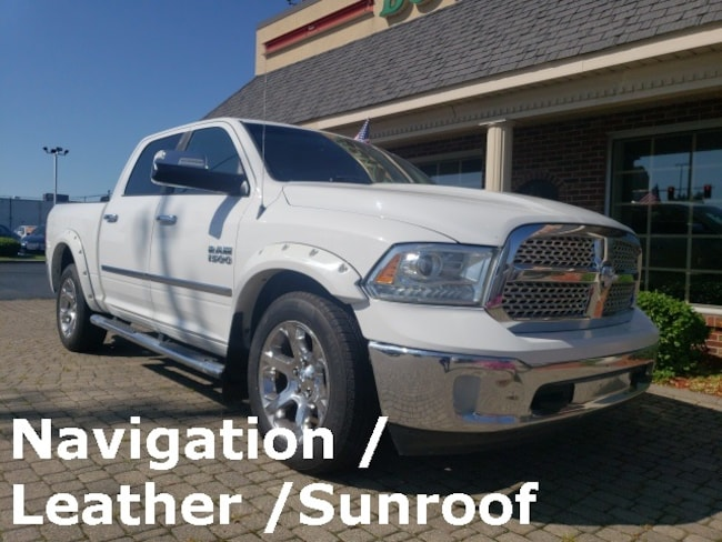 Used 2013 Ram 1500 Laramie 4X4 w Nav, Leather & Sunroof Truck for sale in Bowling Green, OH