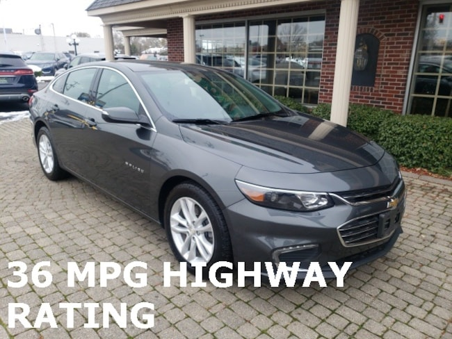 Used 2017 Chevrolet Malibu LT Sedan for sale in Bowling Green, OH