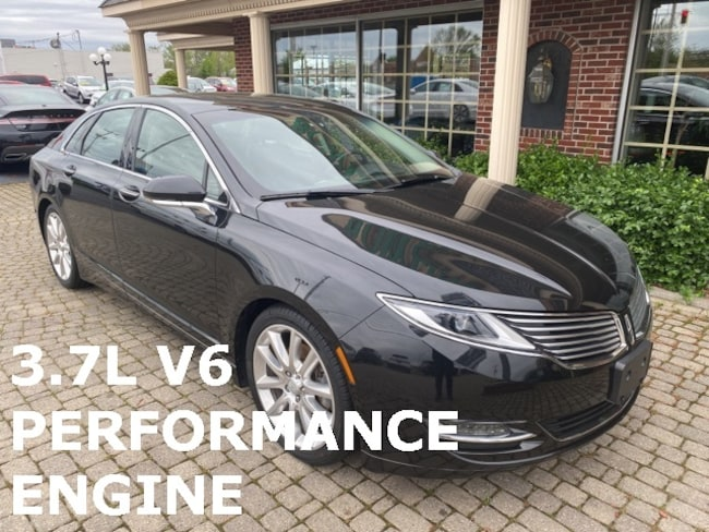 Used 2015 Lincoln MKZ Ultimate w 3.7L V6 Performance Engine Sedan for sale in Bowling Green, OH