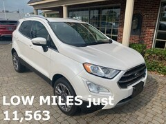 Used 2019 Ford EcoSport Titanium AWD w Nav, Leather & Sunroof SUV for sale oin Bowling Green, OH