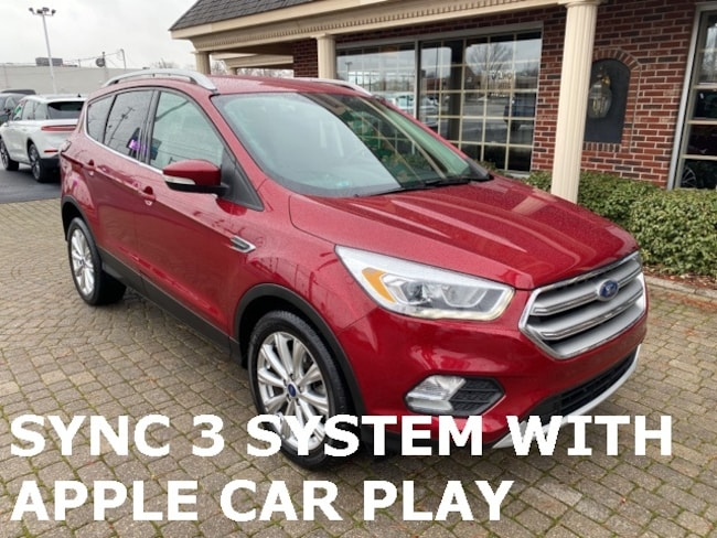 Used 2017 Ford Escape Titanium SUV for sale in Bowling Green, OH