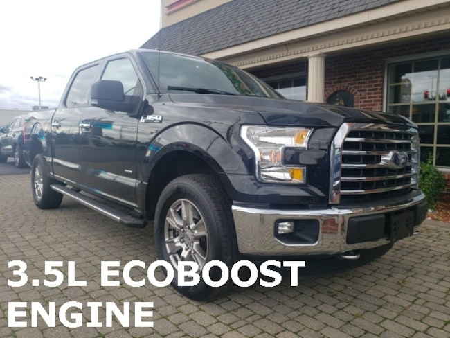 Used 2015 Ford F-150 XLT 4X4 SUPERCREW Truck for sale in Bowling Green, OH