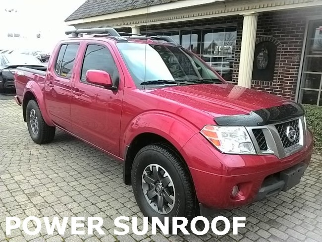 Used 2014 Nissan Frontier SL 4 DOOR CREW CAB 4X4 w SUNROOF Truck for sale in Bowling Green, OH
