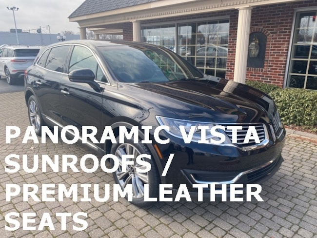 Used 2016 Lincoln MKX AWD w Panoramic Vista Sunroofs SUV for sale in Bowling Green, OH