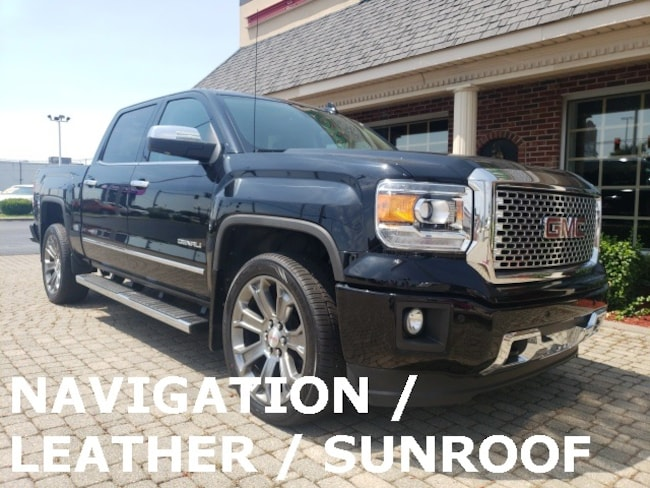 Used 2015 GMC Sierra 1500 Denali 4X4 w Nav, Leather & Sunroof Truck for sale in Bowling Green, OH