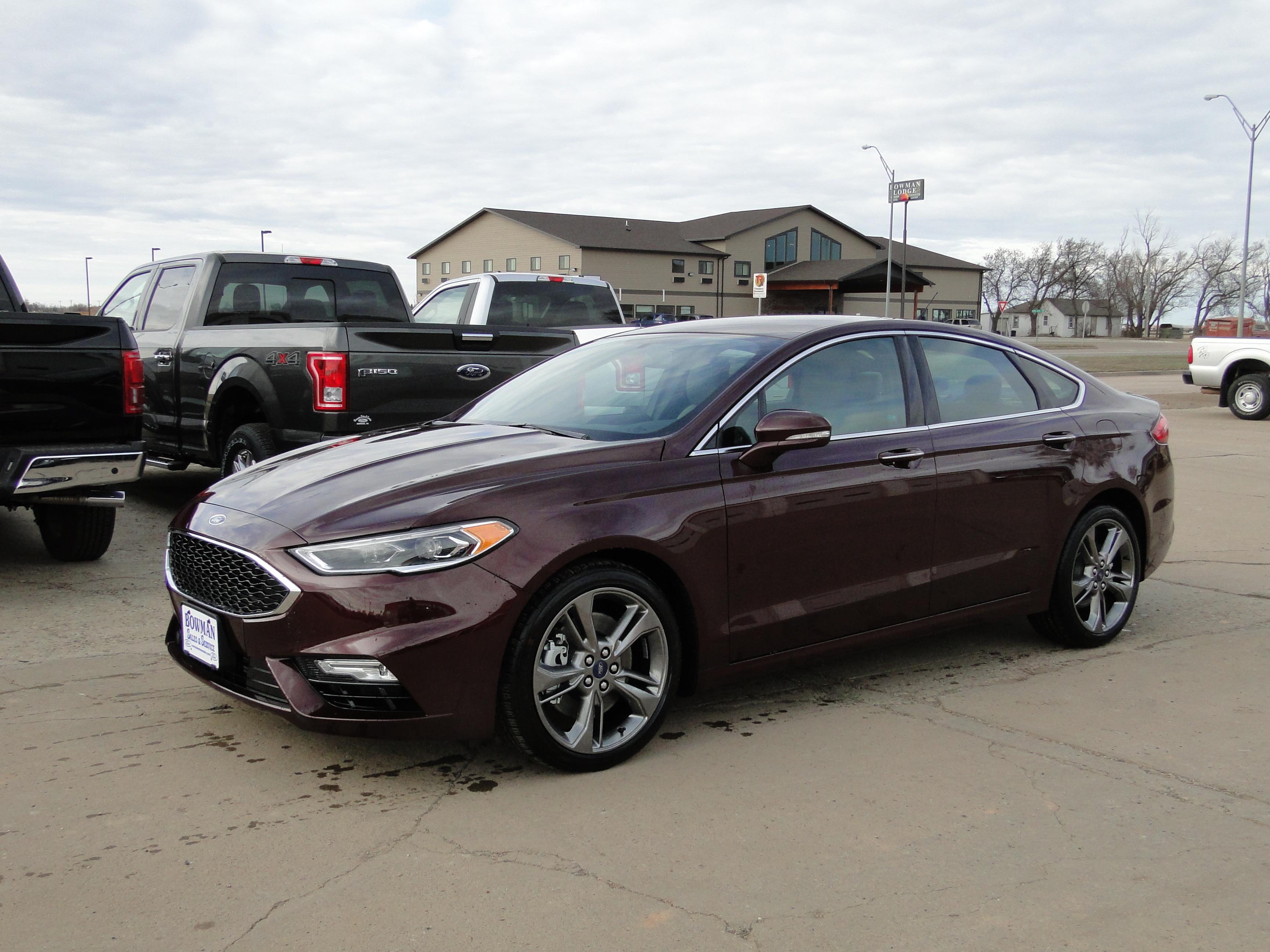 2017 Ford Fusion Sport Sedan