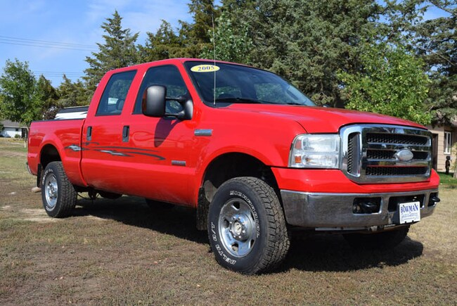 2005 Ford F-250 Crew Cab Truck