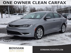 Used 2015 Chrysler 200 Limited Sedan 1C3CCCABXFN672850 P2407A serving Clarkston