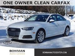 Used 2017 Audi A4 2.0T Premium Sedan WAUANAF40HN019407 P7037 serving Clarkston