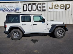 new 2019 Jeep Wrangler UNLIMITED SPORT S 4X4 Sport Utility North Vernon, IN