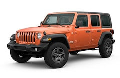 new 2020 Jeep Wrangler UNLIMITED SPORT S 4X4 Sport Utility North Vernon, IN