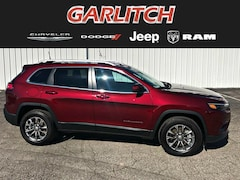 New 2019 Jeep Cherokee LATITUDE PLUS 4X4 Sport Utility  for sale in North Vernon IN