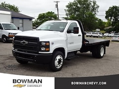 New 2019 Chevrolet 4500 HD 11' Flat Bed W/ Gooseneck Hitch 1HTKHPVK5KH610522 193935 serving Clarkston