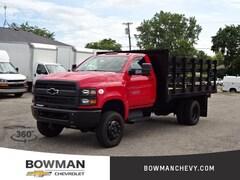 New 2019 Chevrolet 4500 HD 4WD 12' Stake Truck 1HTKJPVK8KH126185 194063 serving Clarkston