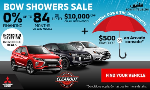 Bow Showers Sale