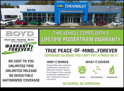 New Chevrolet Buick Cadillac Vehicles At Boyd Automotive In Hendersonville