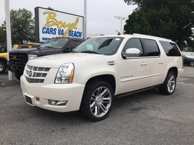 Used 2014 Cadillac Escalade Esv For Sale Emporia Va 1gys3jef5er138018