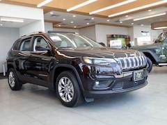 New 2021 Jeep Cherokee LATITUDE LUX FWD Sport Utility 1C4PJLMX2MD183615 J21072 in Emporia