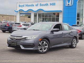 2016 Honda Civic LX LX  Sedan CVT