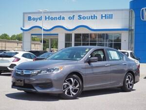 2016 Honda Accord LX LX  Sedan CVT