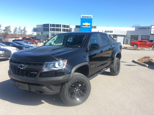2019 Chevrolet Colorado ZR2 | MIDNIGHT EDITION | H.D. TRAILERING PKG Truck Crew Cab